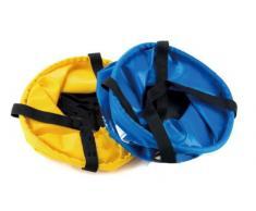 Eau Seau Sport Camp Container Pliable Sink Wash Bleu Kit, 10L