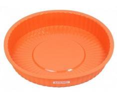 Moule en silicone - 24 cm de diamètre - moule à gâteau, moule à tarte-plat à tarte