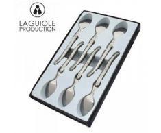 Laguiole I7554-6 Coffret de 6 Cuillères à Café