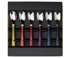 Guy Degrenne 210687 Coffret de 6 Cuillère Café Multicolore 24 x 24 x 2,5 cm