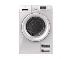 Sèche linge Condensation Whirlpool FTCM118XB1FR - Condensation - Chargement Frontal - Départ différé - Indicateur temps restant - 66 décibels
