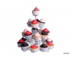 Presentoir a cupcakes / muffins - pour 23 muffins / cupcakes sur 4 etages - Presentoir a patisseries / gateaux