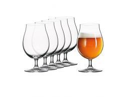 SPIEGELAU Verre à bière amp; Night Man, Artisanal, en Cristal, Cristal, Transparent, 28.1x19x16.5 cm