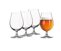 Spiegelau 4991974 18,8 x 18,8 x 16,5 cm bière Classics Tulipe en Verre, Lot de 4, Transparent