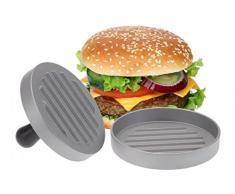 Presse à hamburger – aluminium – mini-hamburgers – Presse à hamburger – Hamburger Transformer – Ustensiles de cuisine