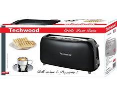 Techwood TGP-266 Grille Pain 39,5 x 12 x 19,6 cm