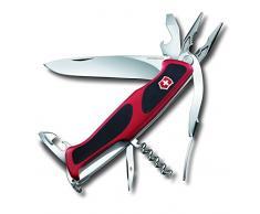 Victorinox Couteau de poche RangerGrip 74Â rouge/noir, 0.9723. CB1