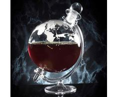 Jeray Mixology Globe en verre à Whisky Carafe à décanter avec support