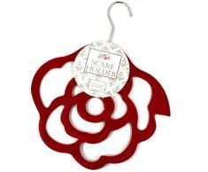 Rose Rouge écharpe-ceinture et porte-cravate