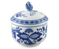 Hutschenreuther 02001-720002-14330 Sucrier 3, Porcelaine, Bleu, 11,3 x 11,3 x 8,2 cm
