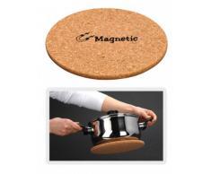 Dessous-de-plat magnétique en liège - 21,5 cm Ø - Dessous-de-plat rond
