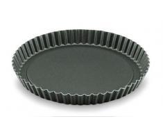 Lacor 68823 Moule à Tarte Dentelé Aluminium Antiadhésiférent 32 cm