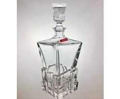 LArtisan du Cristal - Carafe à Whisky Cristal Fait Main Estampillé Klein 54120 Baccarat France 70cl - Idée cadeau