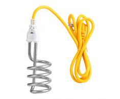 Zerodis Chauffe-Eau électrique portatif à Immersion pour Un Seau ou Un Bassin la Maison Le Bureau ou Les Voyages 1500W 220V