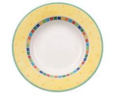 Villeroy & Boch 10-1360-2700 Twist Alea Lot de 6 bols à soupe Jaune citron 24 cm