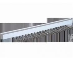 HomeXpert 504601 Le Spécial Porte-Cravate Autocollante Plastique Blanc 41 x 10 x 5 cm