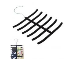 Romote Ceinture antiglisse cravate CRAVATE Chaussettes Echarpes cintre Porte-Closet Rack