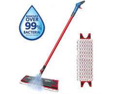 Vileda 1-2 Balai pulvérisateur avec serpillère en Microfibre