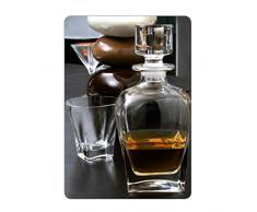 Coffret 6 Verres + 1 carafe à whisky FUSION