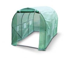 Kenley 3 x 2 m Jardin Serre Tunelle Polytunnel – Insectes Oiseaux Protection - Fort Acier Inoxydable 25 mm
