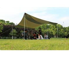 FUNS Outdoor Multi-use Portable Easy Set Up Canopy 16 x 16, Sun Shade Shelter Tarp Gazebo Tent - For Backyard Party, Wedding, Camping, RV, Caravan, Event, Patio, or Carport by Funs