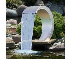 Cascade pour piscine ou bassin Cobra design