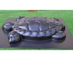 Betonex Moule 3D Tortue Tortle Pierre Décor étang de Jardin Aquarium Plastique ABS # D04