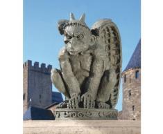 Design Toscano DB924216 Statue de Gargouille de cathédrale Gris 19 x 20,5 x 30,5 cm