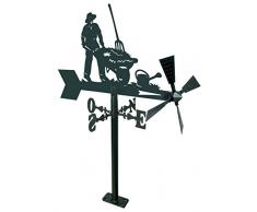 IMEX EL ZORRO 11266 girouette de Jardin Agriculteur 480 mm