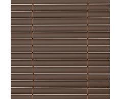 SolVision® Canisse en PVC Haie Brise-vue Jardin Terrasse Balcon Protection Regards Vent Soleil 120x400cm - Marron