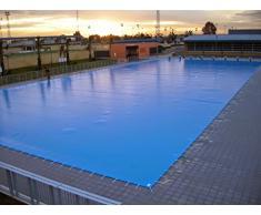 Couverture hivernage rectangulaire pour piscine bois 5 x 8 m - nortland ubbink 7504269