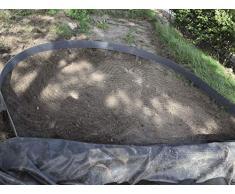 bordure de jardin et étang en rouleau h14 cm x 15 m