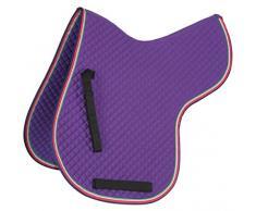Shires Premium Poney/cheval Tapis de selle – Violet Violet Violet Full