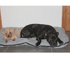 Panier pour chien / Coussin pour chien, XXL 120x80 cm, gris, matelas pour chien