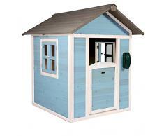 Maisonnette en Bois Sunny Lodge Bleue