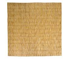 SF SAVINO FILIPPO - Canisse occultante en bambou, 100 x 300 cm, idéale comme brise-vue et cloison de jardin ou balcon