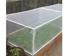Filet anti-insectes en maille fine pour jardin, serre, plantes, fruits, fleurs