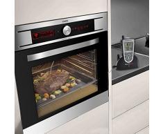 ThermoPro TP-09 Thermomètre de cuisine numérique avec minuterie d'alarme pour Barbecue / Four / Griller