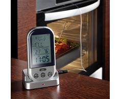 Technoline WS 1050 Thermomètre sans fil pour barbecue - noir/argent