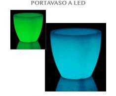 cache pot lumineux acheter cache pots lumineux en ligne sur livingo. Black Bedroom Furniture Sets. Home Design Ideas