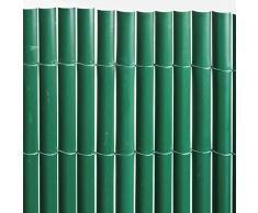 Sodipa 07231 Canisse Simple Face PVC Vert 1,5 X 5 m 900 g/m²
