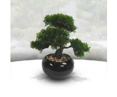 bonsai artificiel pot céramique h.36cm