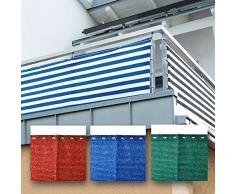 Friedola Optima Canisse Pare-Soleil Coupe-Vent Différentes couleurs 5 m x 90 cm bleu