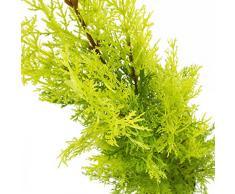 Arbuste artificiel, Cyprès dans un pot, 75 cm - résistant aux intempéries - Topiaire artificiel / Conifère artificiel - artplants