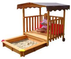 Maisonnette en bois avec bac à sable GASPO