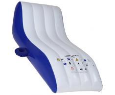 Jago - Matelas fauteuil gonflable pour piscine - (L/l) : env. 157,5/76 cm - avec porte-boissons