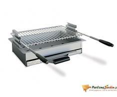 Barbecue à charbon de bois à poser en acier Narbonne