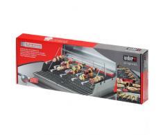 Weber 7615 ETCS Grille et Set de Brochettes Barbecue Accessoires