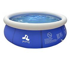 Piscine gonflable ronde Marin Blue 3.0 m x 76 cm