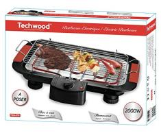 Techwood TBQ-815 Barbecue de Table